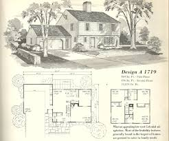 Old Farmhouse Floor Plans by House 1950s House Plans 1950s House Plans