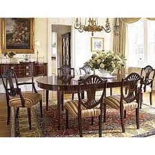 stickley mahogany dining table place dining table