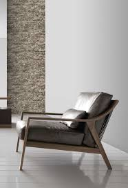 Minimalist Home Interior Minimalist Home Interior With Sandstone Wall And Leatherette