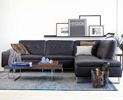 Francesca Leather Sectional Sectionals Scandinavian Designs - Sectionals leather sofas