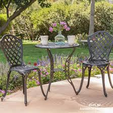 Patio Furniture For Small Spaces by Bistro Set Patio Furniture Patio Set