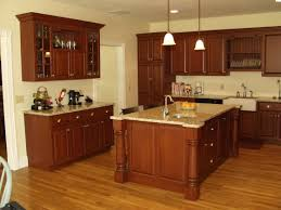 cherry wood kitchen cabinets decor gallery design ideas