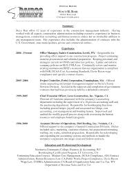 office manager resume exles amazing construction office manager resume exles gallery