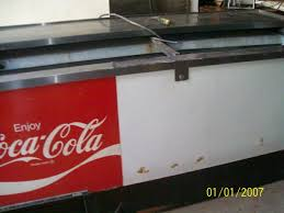 coca cola fridge glass door this is an old coca cola beverage cooler made by beverage air any