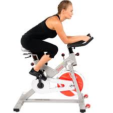 amazon com sunny health u0026 fitness pro indoor cycling bike