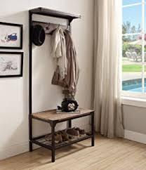 Entryway Storage Bench With Coat Rack Coat Hat Racks Entryway Storage Bench Coat Rack