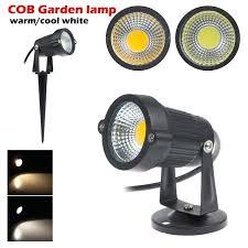 full image for 5pcs lot waterproof 12v 85 265v led garden light outdoor 5w cob led