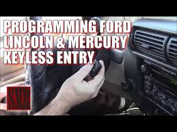 how to program ford mustang key program ford explorer keyless remote key fob 1993 2001