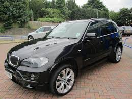 bmw x5 black for sale used bmw x5 2010 diesel xdrive30d m sport 5dr 4x4 black for sale