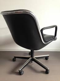 vintage desk chair by charles pollock for knoll for sale at pamono