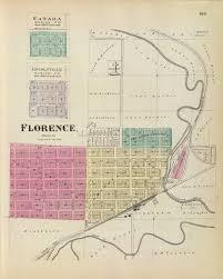 Florence Colorado Map by Atchison Topeka U0026 Santa Fe Railroad