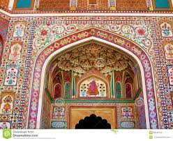 india architecture colorful wall mural painting stock photos india architecture colorful wall mural painting stock photo