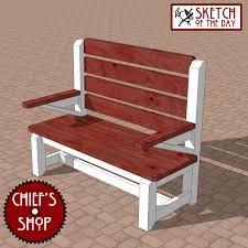 park bench chief u0027s shop