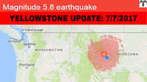 Portland Earthquake Map by Breaking News Yellowstone Warning New Raw Footage Update 7 New