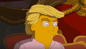 homer simpson the simpsons homer simpson chooses hillary clinton over donald