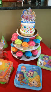Birthday Cake Decoration Ideas At Home by Best 25 Bubble Guppies Cake Ideas On Pinterest Bubble Guppies