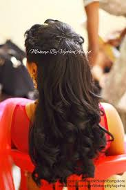 hairstyles for girl engagement indian bride s engagement hairstyle by swank studio curls braids