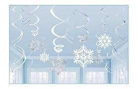 Blue Snowflakes Decorations Snowflakes Decorations Amazon Com
