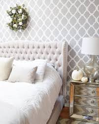wall stencils for bedrooms five dreamy master bedroom ideas using stencils stencil stories