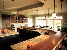 Large Kitchen With Island Ideas 12 Kitchen With Island And Bar On Kitchen Island Rdcny