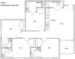 4 bedroom apartment floor plans 4 bedroom floor plan bedroom with mud room layout texas texas