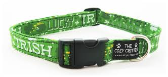 the cozy critter st patrick u0027s day collars
