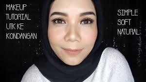 tutorial makeup natural hijab pesta simple makeup tutorial untuk ke kondangan hasil natural soft