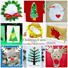 christmas card ideas messy little monster