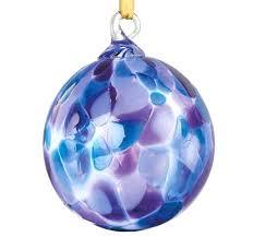 blown glass ornaments german blown violet chip