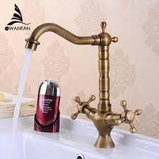 bronze faucets for kitchen buy antique bronze finishing kitchen faucets kitchen tap basin