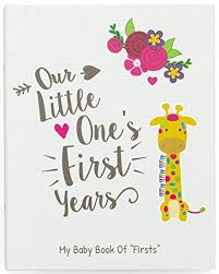 baby book ronica year baby memory book baby journal