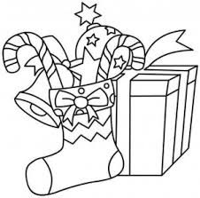 Christmas Gifts Coloring Crafts Worksheets