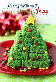 D Christmas Tree Cake - krispie treat christmas tree krispie treats christmas tree and