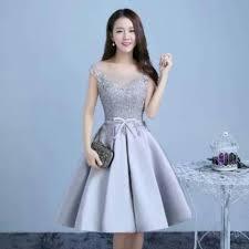 dress pesta jual dress satin tebal dress pesta party dress murah harga terbaru
