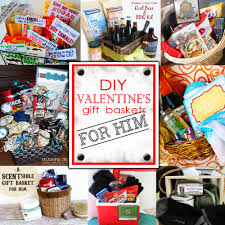 gift baskets for s day diy s day gift baskets for him doodles
