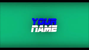 simple 2 5d intro template free u0026 only blender youtube