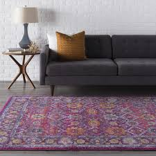 Gray And Purple Area Rug Area Rug Sale Harput Hap 1001