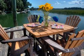 Furniture Enjoy Your Backyard With Perfect Picnic Tables Lowes by Patio Folding Patio Set Lowes Patio Dining Sets Metal Outdoor