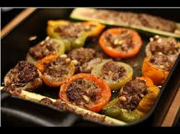 recette cuisine dietetique recette des légumes farcis au boeuf recette diététique