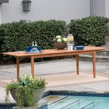 Outdoor Patio Dining Set - belham living brisbane outdoor wood extension patio dining set