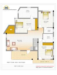 3 Storey House Plans 3 Story House Plan And Elevation 3521 Sq Ft Kerala Home