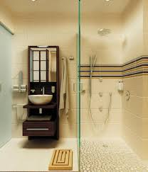 handsome zen bathrooms decoration idea with double sinks also