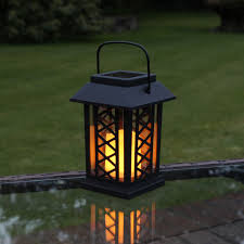 solar powered lantern lights solar outdoor lanterns solar garden table lanterns collection on