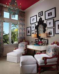 interior design courses at home interior design beautiful eclectic home office with pink arm chair