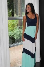 chevron maxi dress and mint chevron maxi dress