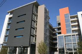 modern apartment building exterior two tone colors and ideas