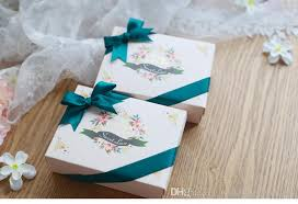 wedding candy boxes wholesale stunning forest style wedding favor boxes with flowers pattern