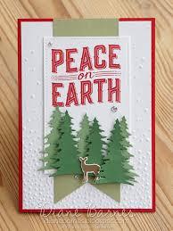 handmade christmas card using stampin u0027 up carols of christmas