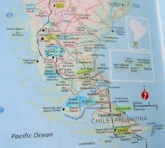 Patagonia Map El Chalten U2026 U2026 A Hiker U0027s Paradise Patagonia