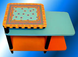 side table paint ideas painted modern coffee tables design ideas homes gallery